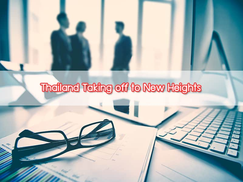 Thailand Taking off to New Heights